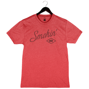 Smokin' - Unisex/Men's Crew - Red