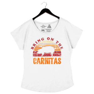 Carnitas by Aarón Sánchez - Women's Dolman - Heather White