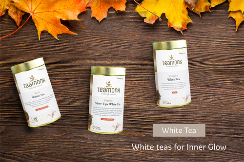 <p>Because of the minimal processing they undergo, white teas have the highest concentration of antioxidants, which fights free radicals to help your skin glow and stay youthful.</p> <p></p> <p></p>