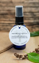 Load image into Gallery viewer, Age-Defying Face Oil with Frankincense, Geranium & Lavender Essential Oil (30ml)