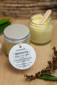 Intensive Hand & Body Butter with Lavender & Chamomile Essential Oil (60ml)