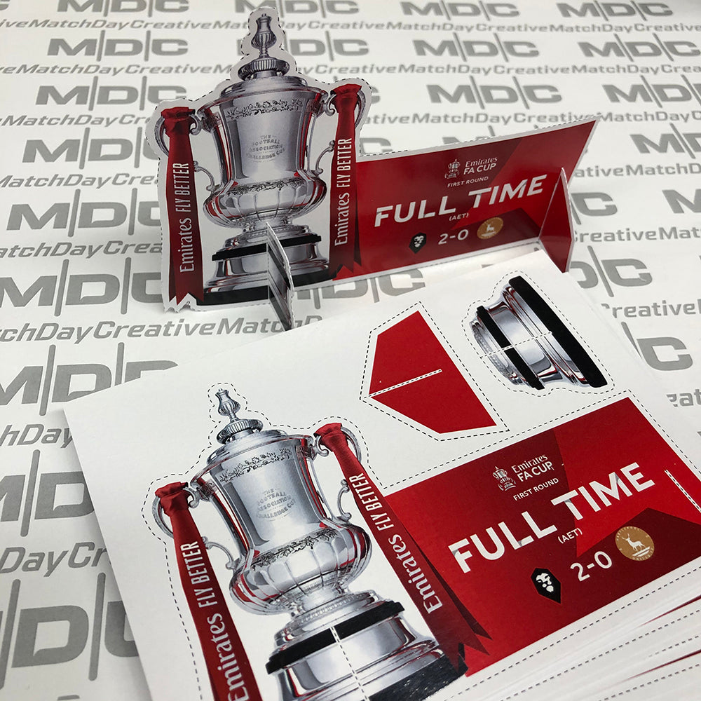 Free Limited Edition Postcard with latest Salford City FA Cup Programme