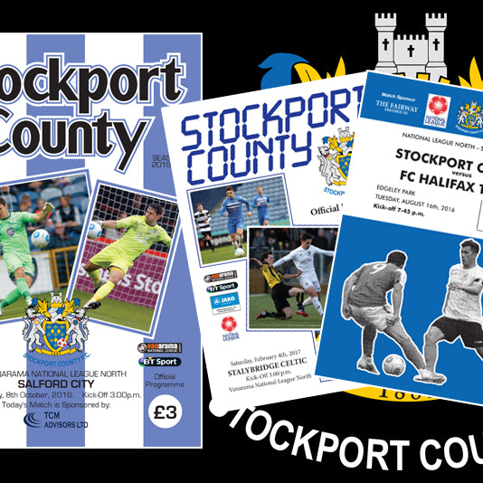 Case Study: Stockport County Retro Programme Covers 2016-17