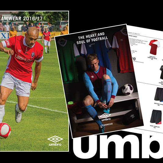 Case Study: Umbro Teamwear Catalogues 2016-17
