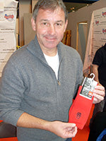 Bryan Robson supporting MAG