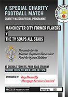 Manchester City Former Players Charity Match
