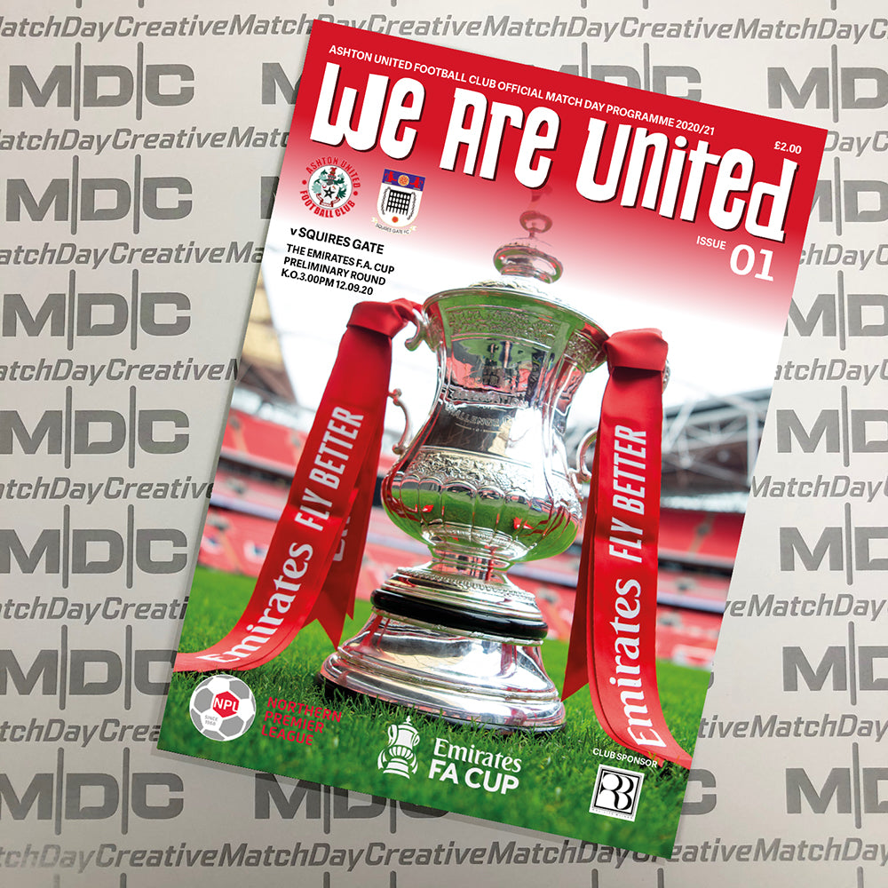 Ashton United Programmes