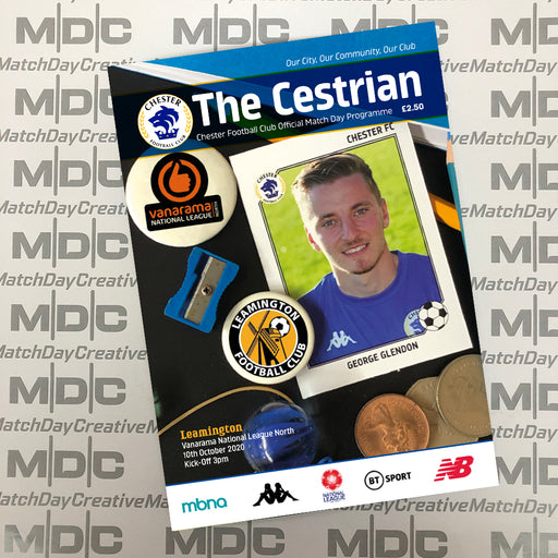Chester v Leamington Programme