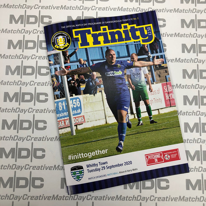 Gainsborough Trinity v Whitby Town Programmes