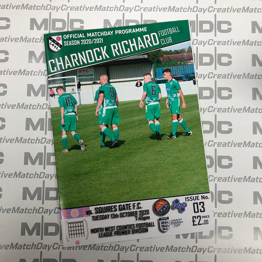 Charnock Richard v Squires Gate Programme