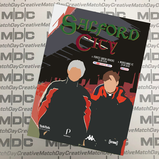 Salford City v Forest Green Rovers Programme