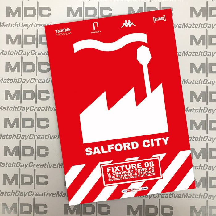 Salford City v Crawley Town Programme