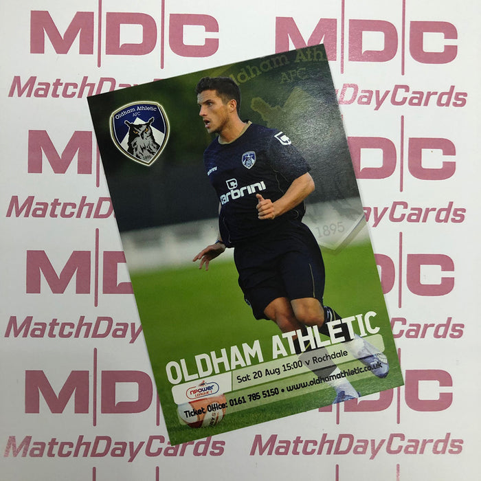 Oldham Athletic Paul Black Trading Card