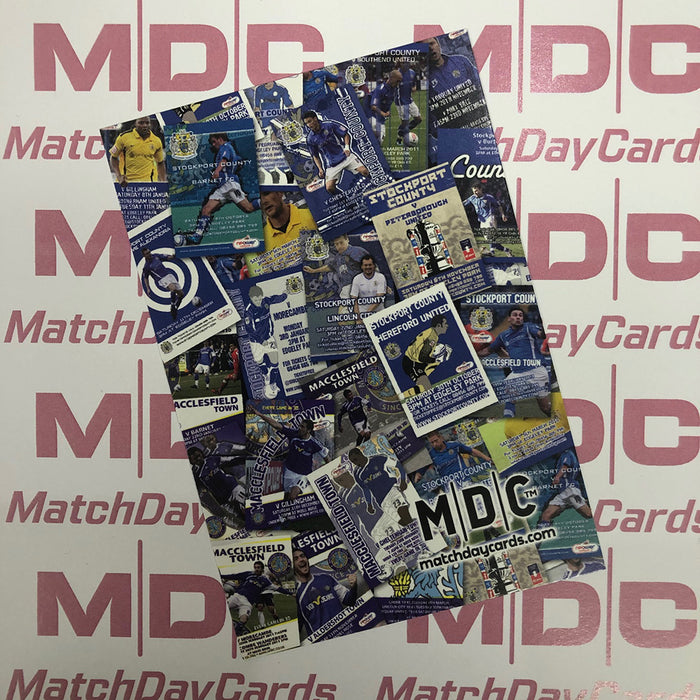 2011 P1 Match Day Cards Promo Match Day Card