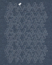 "Laden Sie das Bild in den Galerie-Viewer, Low Cut  Shirt Denim ""ASCII"""