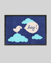 "Laden Sie das Bild in den Galerie-Viewer, Doormat ""Birdy Hey"" 60x45cm"