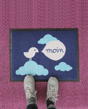 "Laden Sie das Bild in den Galerie-Viewer, Doormat ""Birdy Moin"" 60x45cm"