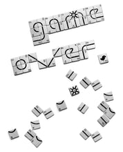"Laden Sie das Bild in den Galerie-Viewer, Bamboo Shirt White ""Game Over"""