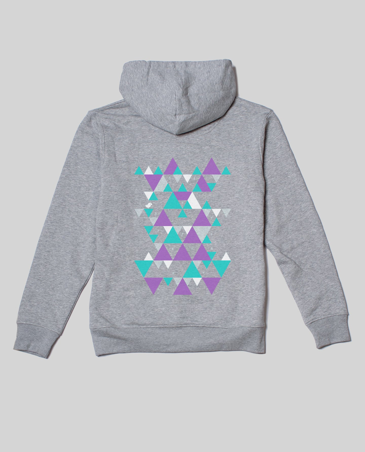 Unisex Hoodie Heather Grey