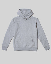 "Laden Sie das Bild in den Galerie-Viewer, Unisex Hoodie Heather Grey ""Distorsion"""
