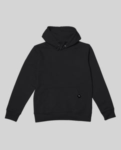 "Unisex Hoodie Black ""Distorsion"""