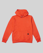 "Laden Sie das Bild in den Galerie-Viewer, Unisex Hoodie Tangerine ""Distorsion"""