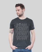 "Laden Sie das Bild in den Galerie-Viewer, Bio T-Shirt Dark Heather Grey ""ASCII"""