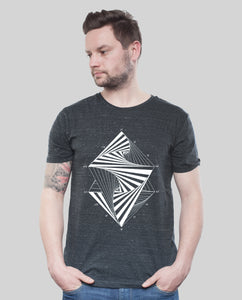 "Bio T-Shirt Dark Heather Grey ""Paradox"""
