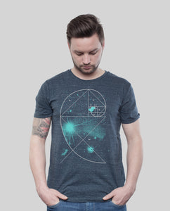 "Bio T-Shirt Dark Heather Denim ""Universe"""