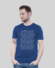"Laden Sie das Bild in den Galerie-Viewer, Bio T-Shirt Majorelle ""ASCII"""