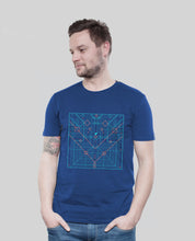 "Laden Sie das Bild in den Galerie-Viewer, Bio T-Shirt Majorelle ""Origami"""
