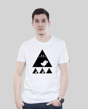 "Laden Sie das Bild in den Galerie-Viewer, Bio T-Shirt White ""Achtung Birdy Black"""