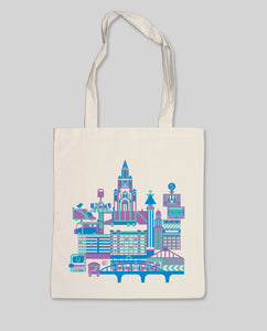 "Bio Shopping Bag Natural ""B-Town"""