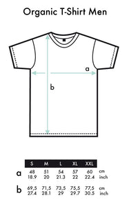 "Bio T-Shirt White ""Abstrakt"""