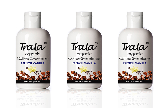 TraLa Organic Coffee Sweetener FRENCH VANILLA - Organic Coffee Sweetener