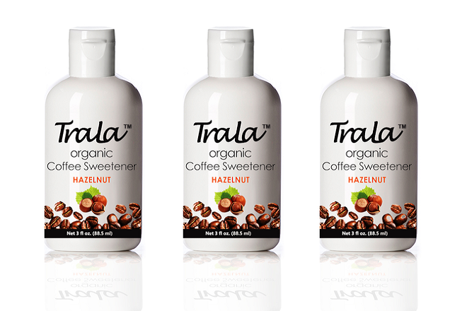 TraLa Organic Coffee Sweetener HAZELNUT - Organic Coffee Sweetener