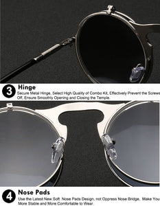 XIU Flip Up Sunglasses - Men