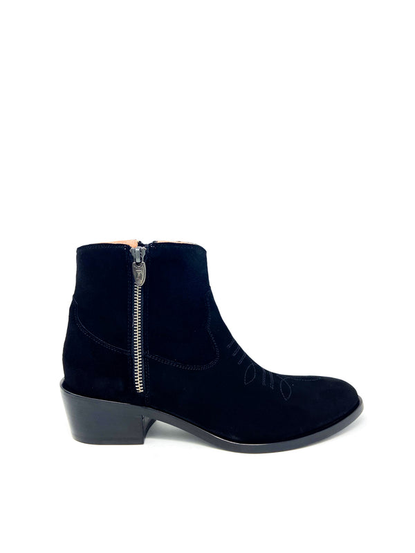 ZIPPY ANKLE BOOT