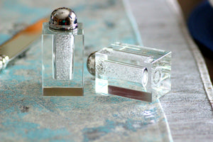 Crystal Bead Salt & Pepper Shakers - The Jewish Kitchen