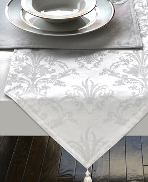 Fleur-de-lis Table Runner - The Jewish Kitchen