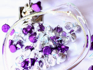 Candy Dish with Swarovski Crystals (large) - The Jewish Kitchen