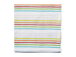 Cabana Stripe Napkins, Set of 4 - The Jewish Kitchen