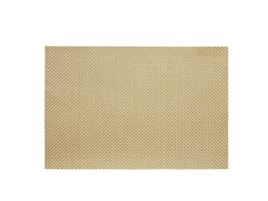 Easy Care Metallic Basketweave Placemat - Gold - The Jewish Kitchen