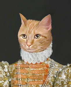 Royal Pet Portrait from your photo