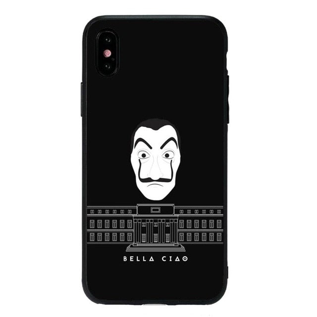 coque la casa de papel iphone 8 plus