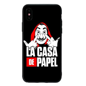 Coque La Casa De Papel pour iPhone X, XR, XS - XS MAX