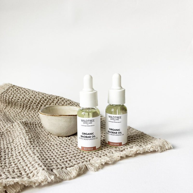 Skin Oil - Pure Organic Baobab, Wildtree, The Clean Market