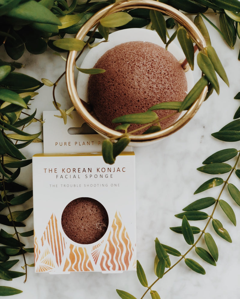 Konjac Facial Sponge - The Elements: Fire, The Konjac Sponge Co, The Clean Market