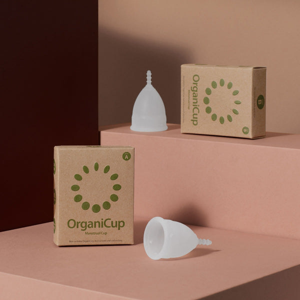 OrganiCup Menstrual Cup, Menstrual Cup, OrganiCup, - The Clean Market