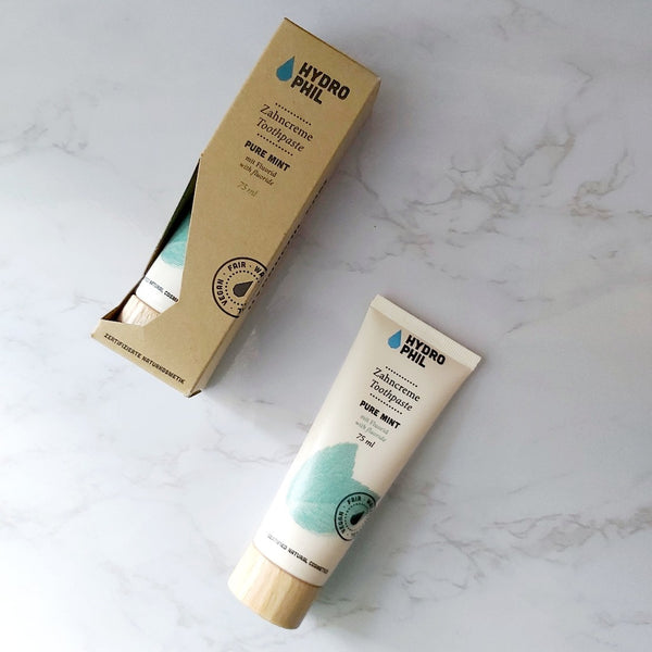 Hydrophil Sustainable Toothpaste - Pure Mint, A fine choice, The Clean Market